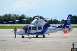 E-75さんが、函館空港で撮影したオールニッポンヘリコプター AS365N3 Dauphin 2の航空フォト(飛行機 写真・画像)