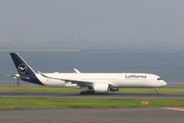 inyoさんが、羽田空港で撮影したルフトハンザドイツ航空 A350-941の航空フォト(飛行機 写真・画像)