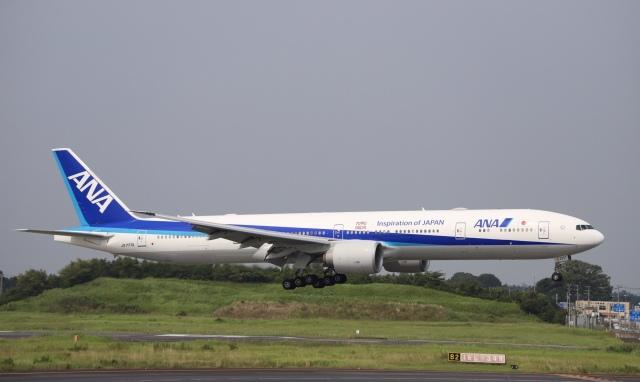 m_aereo_iさんが、成田国際空港で撮影した全日空 777-381/ERの航空フォト(飛行機 写真・画像)