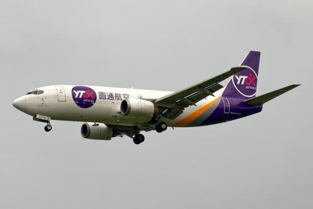 Cozy Gotoさんが、成田国際空港で撮影したYTOカーゴ・エアラインズ 737-37Kの航空フォト(飛行機 写真・画像)