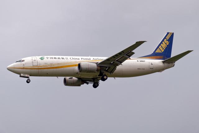 Cozy Gotoさんが、成田国際空港で撮影した中国郵政航空 737-4Q8(SF)の航空フォト(飛行機 写真・画像)