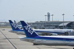 空が大好き!さんが、関西国際空港で撮影した全日空 777-381/ERの航空フォト(飛行機 写真・画像)