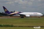 tassさんが、成田国際空港で撮影したタイ国際航空 777-2D7/ERの航空フォト(飛行機 写真・画像)