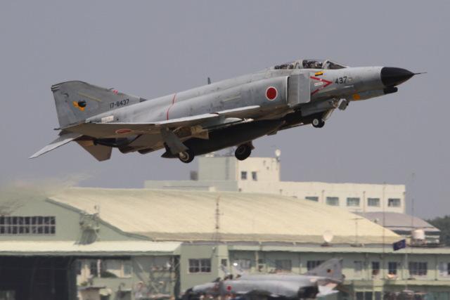 空飛ぶ河豚さんが、茨城空港で撮影した航空自衛隊 F-4EJ Kai Phantom IIの航空フォト(飛行機 写真・画像)