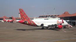 誘喜さんが、スカルノハッタ国際空港で撮影したバティク・エア A320-214の航空フォト(飛行機 写真・画像)