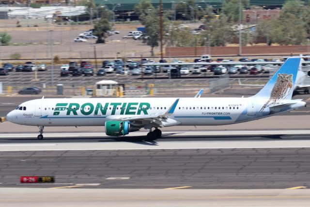 キャスバルさんが、フェニックス・スカイハーバー国際空港で撮影したフロンティア航空 A321-211の航空フォト(飛行機 写真・画像)