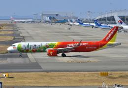 kix-booby2さんが、関西国際空港で撮影したベトジェットエア A321-271Nの航空フォト(飛行機 写真・画像)
