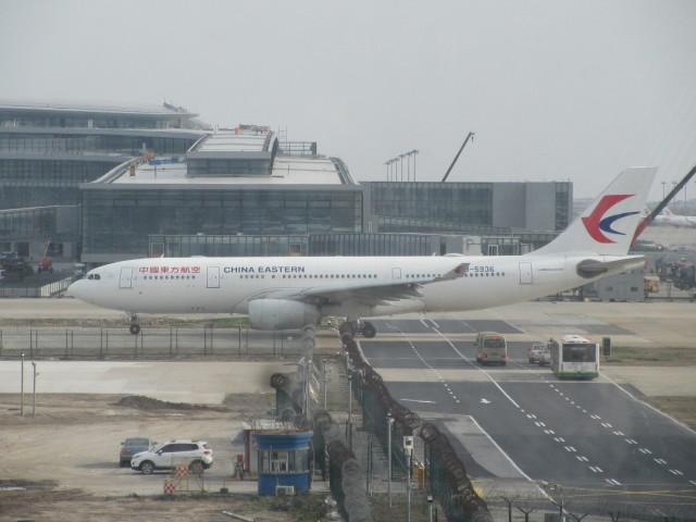 LOVE767さんが、上海浦東国際空港で撮影した中国東方航空 A330-243の航空フォト(飛行機 写真・画像)