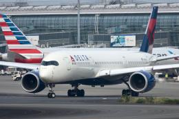 gucciyさんが、羽田空港で撮影したデルタ航空 A350-941の航空フォト(飛行機 写真・画像)