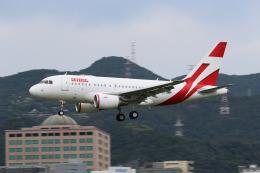 HLeeさんが、台北松山空港で撮影したユニバーサルエンターテインメント A318-112 CJ Eliteの航空フォト(飛行機 写真・画像)