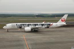 wingace752さんが、新千歳空港で撮影した日本航空 A350-941の航空フォト(飛行機 写真・画像)
