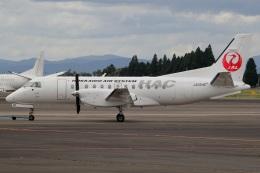 MOR1(新アカウント)さんが、鹿児島空港で撮影した北海道エアシステム 340B/Plusの航空フォト(飛行機 写真・画像)
