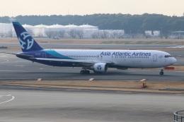 kahluamilkさんが、成田国際空港で撮影したアジア・アトランティック・エアラインズ 767-322/ERの航空フォト(飛行機 写真・画像)
