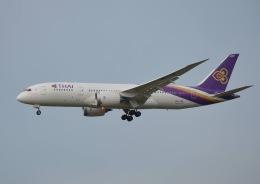 竹林 義弘さんが、福岡空港で撮影したタイ国際航空 787-8 Dreamlinerの航空フォト(飛行機 写真・画像)