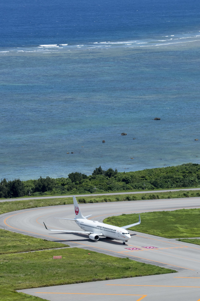 JA1118Dさんが、新石垣空港で撮影した日本トランスオーシャン航空 737-8Q3の航空フォト(飛行機 写真・画像)