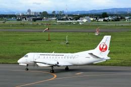 にしやんさんが、札幌飛行場で撮影した北海道エアシステム 340B/Plusの航空フォト(飛行機 写真・画像)