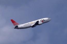 kumagorouさんが、那覇空港で撮影した日本トランスオーシャン航空 737-4Q3の航空フォト(飛行機 写真・画像)