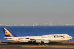 inyoさんが、羽田空港で撮影したルフトハンザドイツ航空 747-830の航空フォト(飛行機 写真・画像)
