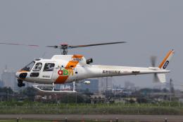 やまけんさんが、仙台空港で撮影した東邦航空 AS350B2 Ecureuilの航空フォト(飛行機 写真・画像)