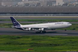ぱん_くまさんが、羽田空港で撮影したルフトハンザドイツ航空 A340-313Xの航空フォト(飛行機 写真・画像)