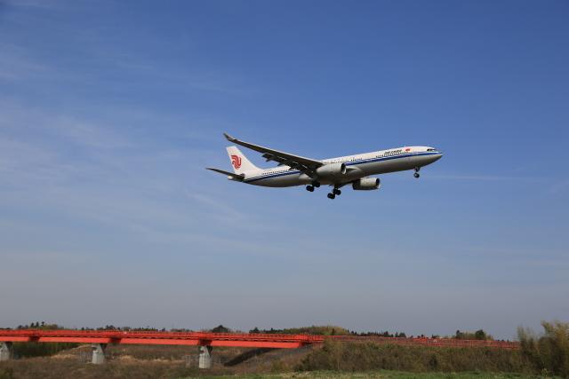 flyskyさんが、成田国際空港で撮影した中国国際航空 A330-343Xの航空フォト(飛行機 写真・画像)