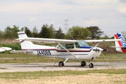 A-Chanさんが、大利根飛行場で撮影した日本法人所有 172P Skyhawkの航空フォト(飛行機 写真・画像)