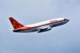 パール大山さんが、ダニエル・K・イノウエ国際空港で撮影したアロハ航空 737-247の航空フォト(飛行機 写真・画像)