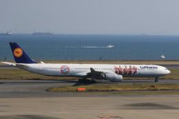 inyoさんが、羽田空港で撮影したルフトハンザドイツ航空 A340-642Xの航空フォト(飛行機 写真・画像)
