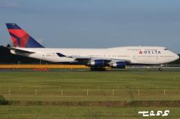 tassさんが、成田国際空港で撮影したデルタ航空 747-451の航空フォト(飛行機 写真・画像)