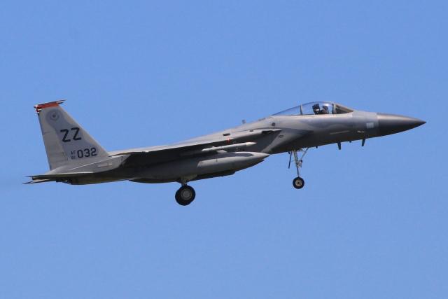 キイロイトリさんが、嘉手納飛行場で撮影したアメリカ空軍 F-15C-31-MC Eagleの航空フォト(飛行機 写真・画像)