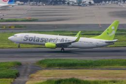 ぱん_くまさんが、羽田空港で撮影したソラシド エア 737-86Nの航空フォト(飛行機 写真・画像)