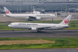 ぱん_くまさんが、羽田空港で撮影した日本航空 767-346/ERの航空フォト(飛行機 写真・画像)