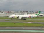 commet7575さんが、福岡空港で撮影したエバー航空 A330-302Xの航空フォト(飛行機 写真・画像)