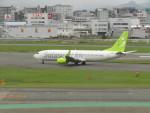 commet7575さんが、福岡空港で撮影したソラシド エア 737-86Nの航空フォト(飛行機 写真・画像)