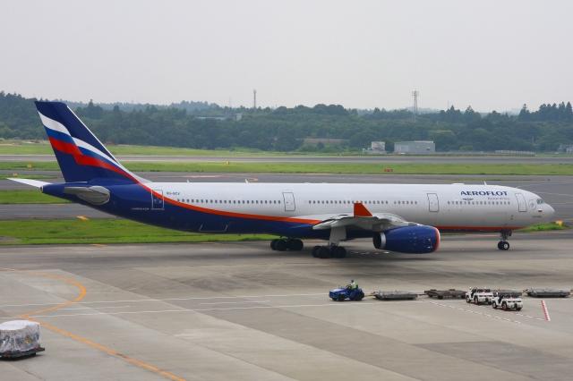 Hiro-hiroさんが、成田国際空港で撮影したアエロフロート・ロシア航空 A330-343Xの航空フォト(飛行機 写真・画像)
