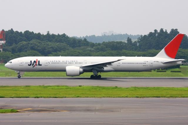 Hiro-hiroさんが、成田国際空港で撮影した日本航空 777-346/ERの航空フォト(飛行機 写真・画像)