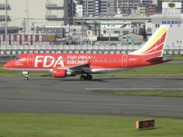 Blue605Aさんが、福岡空港で撮影したフジドリームエアラインズ ERJ-170-100 (ERJ-170STD)の航空フォト(飛行機 写真・画像)