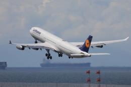 わんだーさんが、中部国際空港で撮影したルフトハンザドイツ航空 A340-313Xの航空フォト(飛行機 写真・画像)
