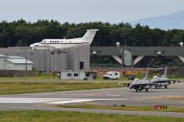 Cスマイルさんが、三沢飛行場で撮影したアメリカ海軍 UC-12F Super King Air (B200C)の航空フォト(飛行機 写真・画像)