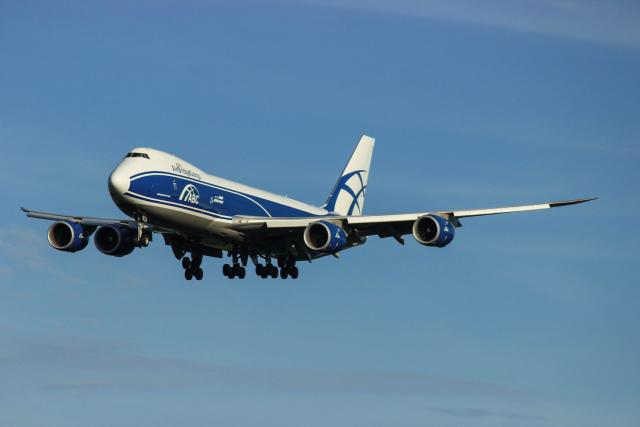 ホタテ㌠さんが、成田国際空港で撮影したエアブリッジ・カーゴ・エアラインズ 747-83QFの航空フォト(飛行機 写真・画像)