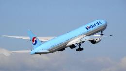 せせらぎさんが、中部国際空港で撮影した大韓航空 777-3B5/ERの航空フォト(飛行機 写真・画像)