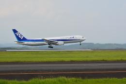 HS888さんが、鹿児島空港で撮影した全日空 767-381/ERの航空フォト(飛行機 写真・画像)