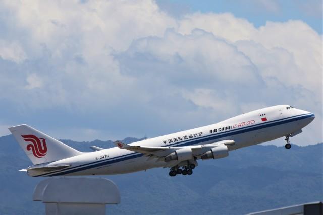 PW4090さんが、関西国際空港で撮影した中国国際貨運航空 747-4FTF/SCDの航空フォト(飛行機 写真・画像)