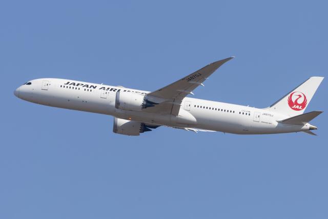 mameshibaさんが、成田国際空港で撮影した日本航空 787-9の航空フォト(飛行機 写真・画像)