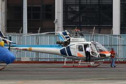 Zakiyamaさんが、熊本空港で撮影した中日本航空 AS350B Ecureuilの航空フォト(飛行機 写真・画像)