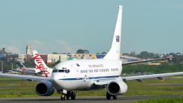 FlyingMonkeyさんが、シドニー国際空港で撮影したオーストラリア空軍 737-7DF BBJの航空フォト(飛行機 写真・画像)