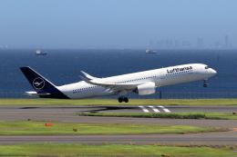 walker2000さんが、羽田空港で撮影したルフトハンザドイツ航空 A350-941の航空フォト(飛行機 写真・画像)