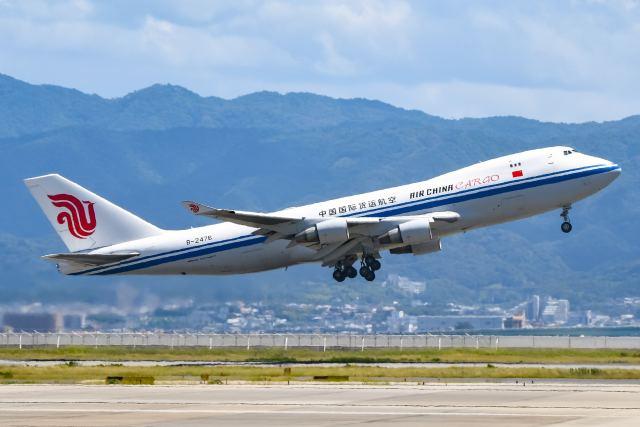 ROSENTHALさんが、関西国際空港で撮影した中国国際貨運航空 747-4FTF/SCDの航空フォト(飛行機 写真・画像)