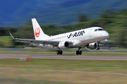 Nao0407さんが、松本空港で撮影したジェイ・エア ERJ-170-100 (ERJ-170STD)の航空フォト(飛行機 写真・画像)