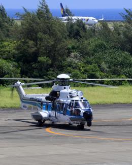 CL&CLさんが、奄美空港で撮影した海上保安庁 EC225LP Super Puma Mk2+の航空フォト(飛行機 写真・画像)